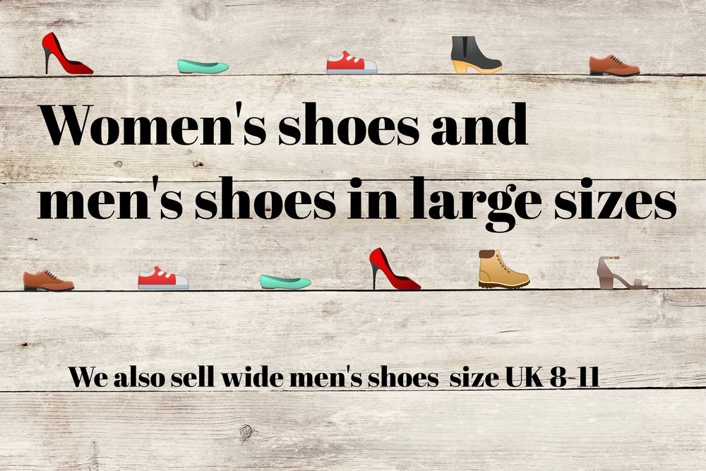 Giant Shoes Footwear in large sizes Men and women