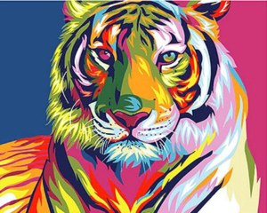 Paint By Numbers / Tiger