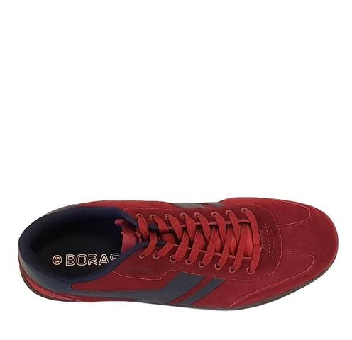 Boras laces / red / leather